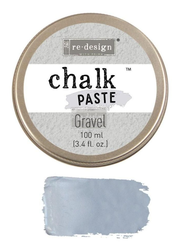 GRAVEL Chalk Paste Re-Design with Prima, Mixed Media - Raised Stencil Medium, 100ml