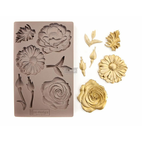 IN THE GARDEN Decor Mould Re-Design with Prima 8