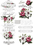 ReDesign with Prima Hopeful Wishes Decor Transfer