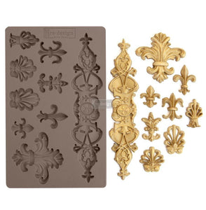 Decor Mould ReDesign with Prima Fleur De Lis