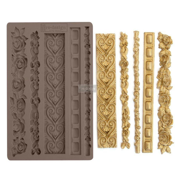 ELEGANT BORDERS Decor Mould Re-Design with Prima 8