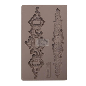 "SICILIAN PLATES Decor Mould Re-Design with Prima 8"" x 5"""
