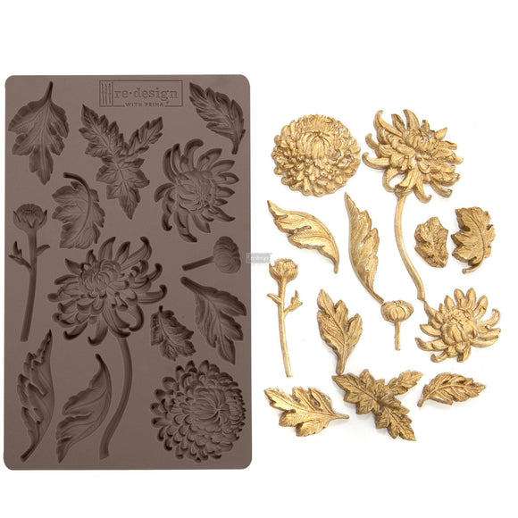 BOTANIST FLORAL Decor Mould Re-Design with Prima 8