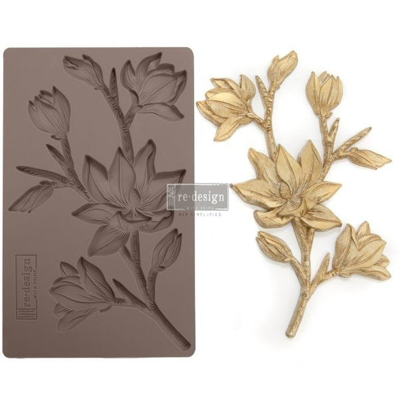 FOREST FLORA Decor Mould Re-Design with Prima 8