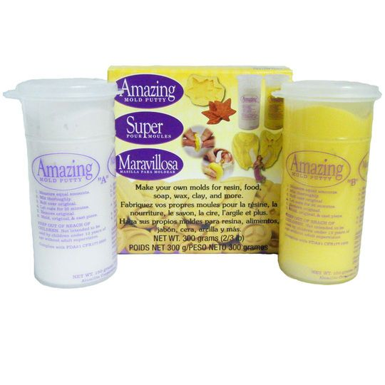 Alumilite Amazing Mould Putty for resin, food, soap, wax and clay