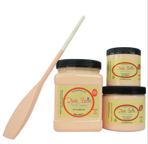 APRICOT - Dixie Belle - Pale Orange with a hint of Pink Chalk Mineral Paint - 236ml/8oz - 473ml/16oz