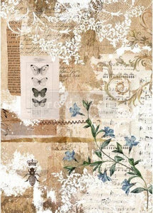 Botanical Sonata Decoupage Rice Paper from Redesign with Prima