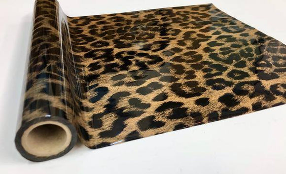 CHEETAH - Gold- Rub On Metallic Foil by APS - Textile Friendly