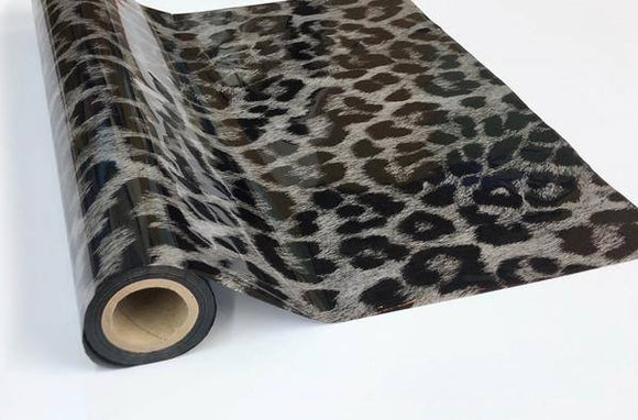 CHEETAH - Silver- Rub On Metallic Foil by APS - Textile Friendly