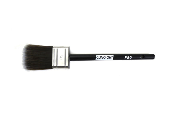Cling On F50 Flat Synthetic Paint Brush for Chalk Paint