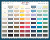 Dixie Belle Mineral Chalk Paint Colour Chart