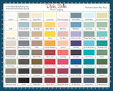 Dixie Belle Chalk and Mineral Paint Colour Chart Card