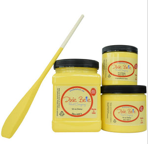 Daisy Vivid Yellow Dixie Belle Chalk and Mineral Paint