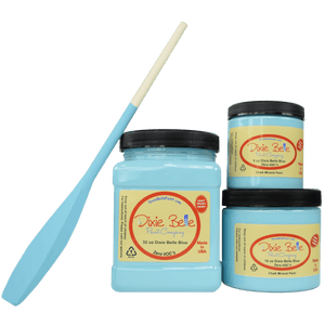 Dixie Belle Blue - Dixie Belle - Bright Tiffany Box Blue Mineral Chalk Paint - 236ml/8oz - 473ml/16oz