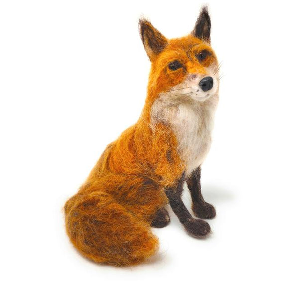 Fabulous Mr Foxy Needle Felting Kit - Finished Size Approx 28cm each