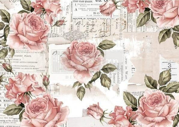 Floral Sweetness Rice Paper ReDesign with Prima