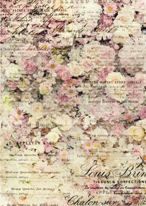 Floral & Dream Decoupage Rice Paper from Redesign with Prima