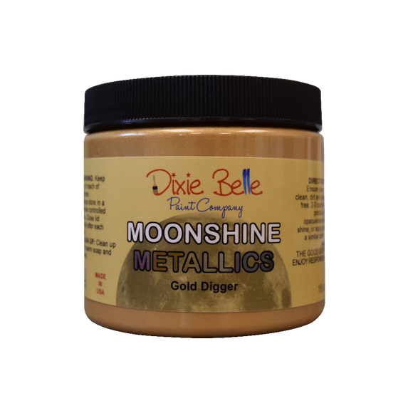 MOONSHINE METALLIC - Gold Digger - Dixie Belle - 16oz/473ml
