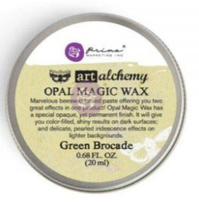 Green Brocade Opal Magic Gilding Wax Art Alchemy