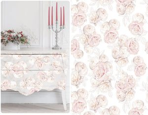Hokus Pokus Jardin De Roses Decor Transfer Decal
