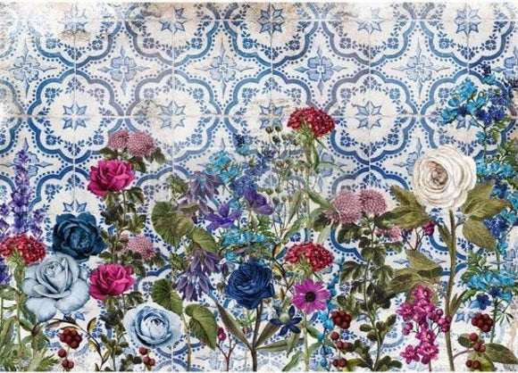Moonlight Garden Decoupage Rice Paper from Redesign with Prima