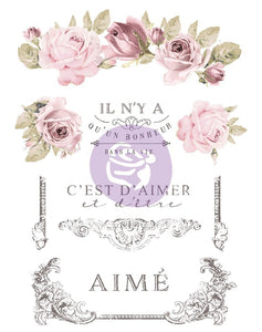 DANS LA VIVE - Furniture Decal Transfer - Redesign Decor Transfer