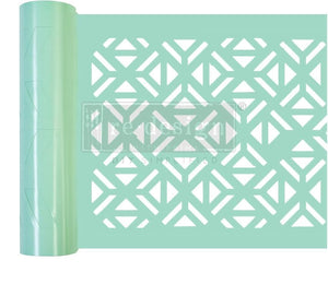 Irregular Triangle Stick and Style Stencil Roll - ReDesign with Prima