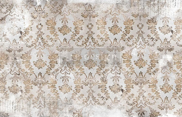 ReDesign with Prima Washed Damask Decoupage Decor Tissue Paper