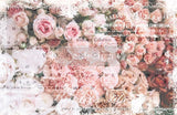 ReDesign with Prima Angelic Rose Garden Decoupage Decor Tissue Paper