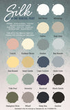 Silk All In One Mineral Paint - Colour Chart Card