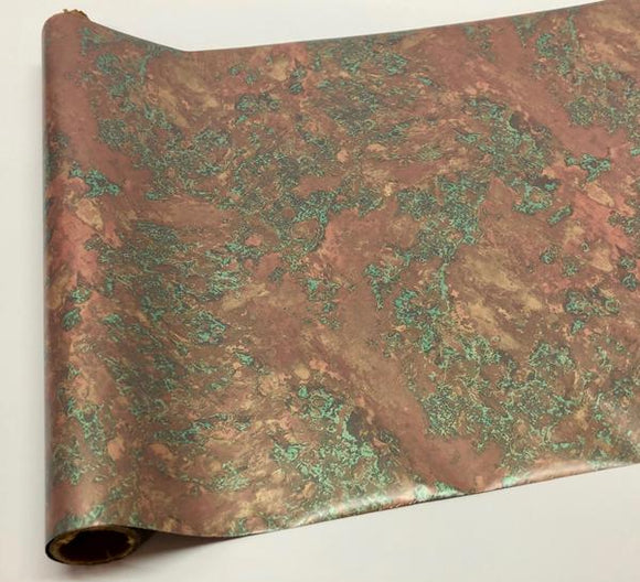 WEATHERED COPPER - Copper - Rub On Metallic Foil by APS