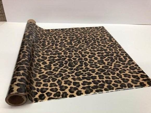 WILD LEOPARD LARGE SPOT - Gold - Rub On Metallic Foil by APS - Textile Friendly