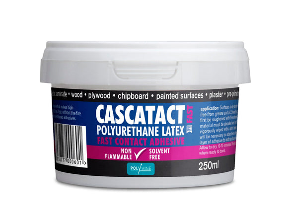 Polyvine Cascatact Fast Contact Adhesive