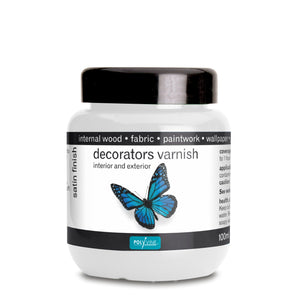 Polyvine Decorators Varnish Satin 1 litre