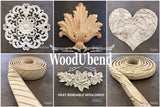 WoodUbend Trim Decor Moulding Applique
