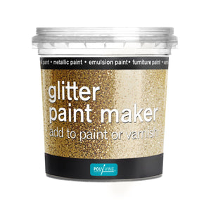 Polyvine Glitter Paint Maker in Gold