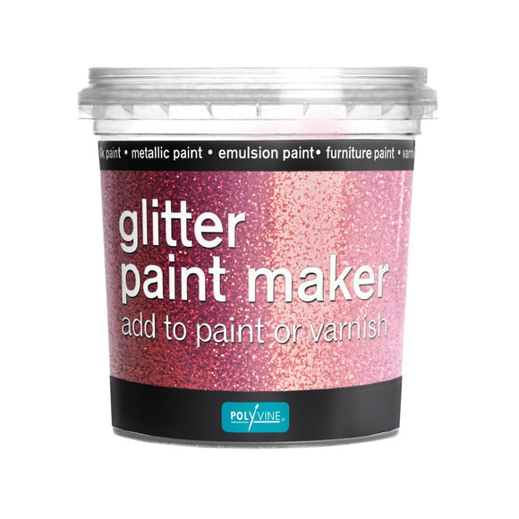 Polyvine Glitter Paint Maker in Pink
