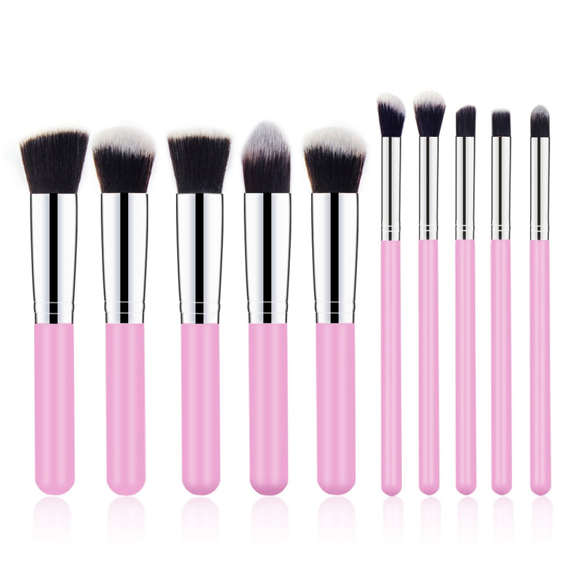 10Pcs Makeup Brushes
