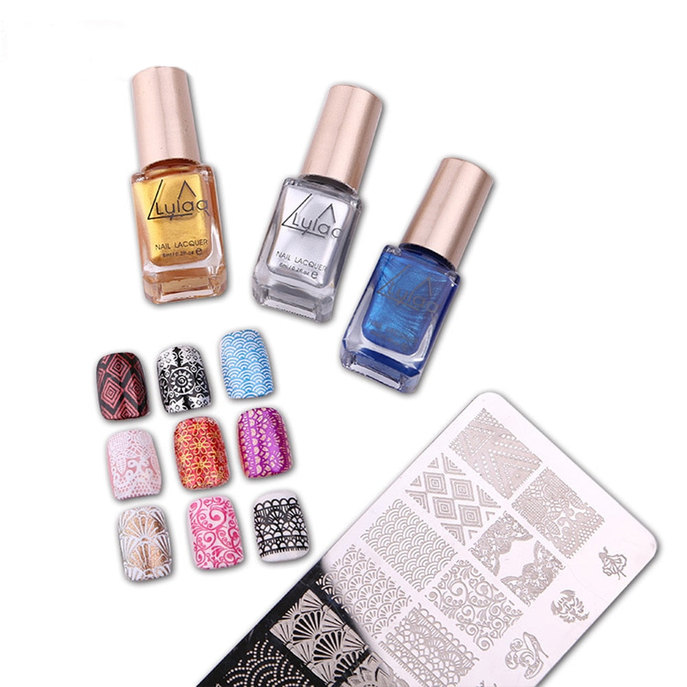 6ML Nail Polish & Stamp Polish