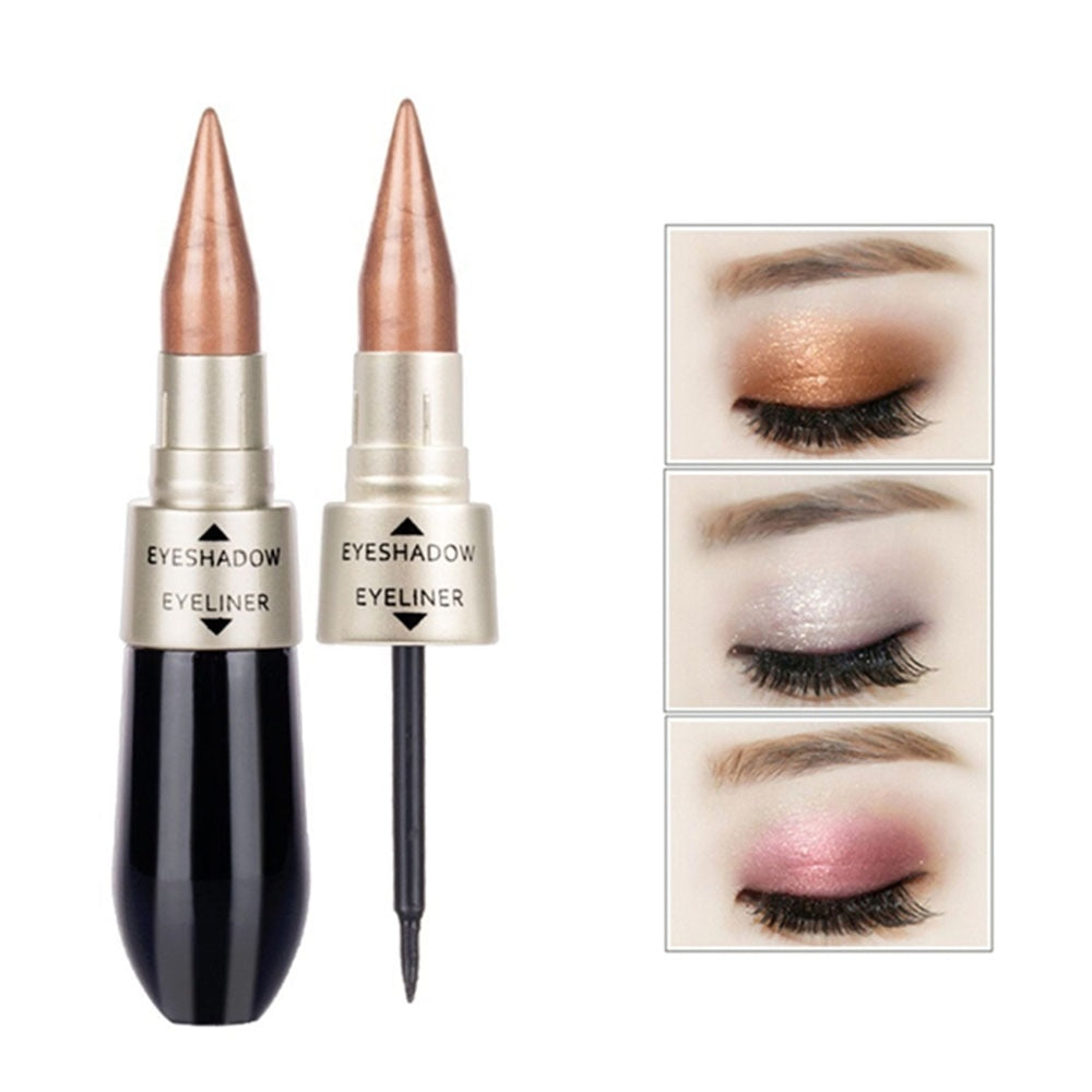 2 In 1 Liquid Eye Shadow Eyeliner Pen