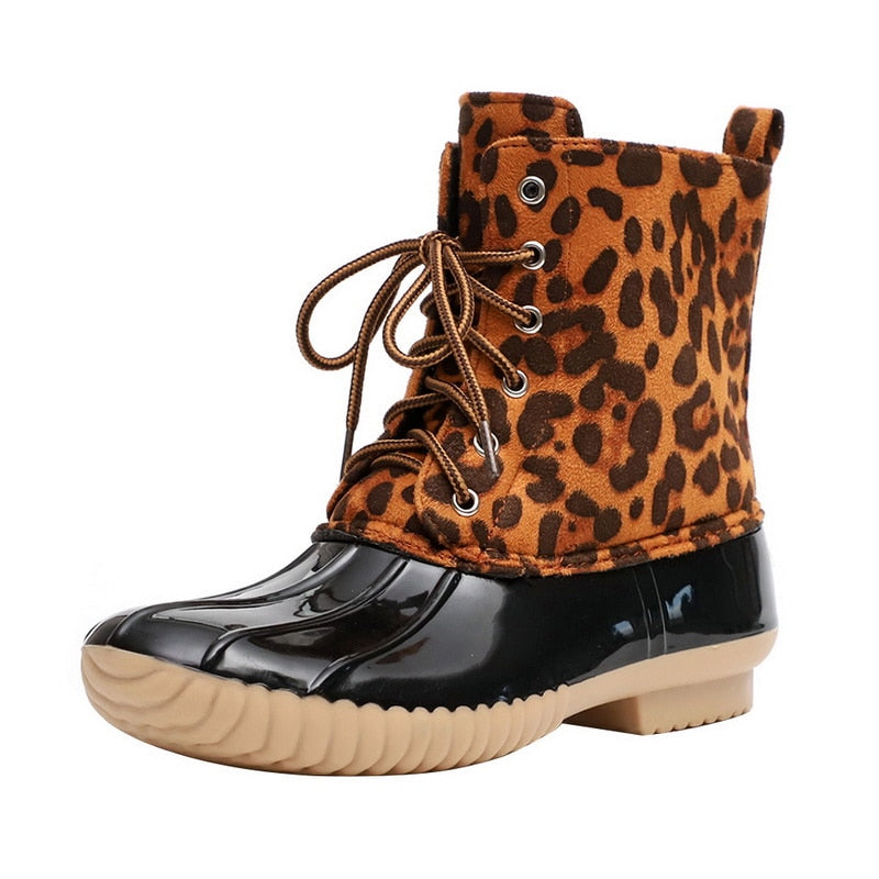 Leopard Boots for Women