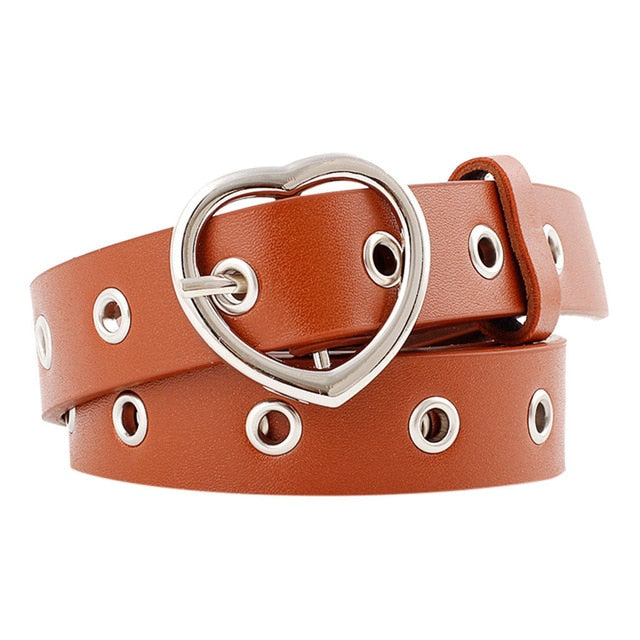 Fashion Women's Pu Leather Belt