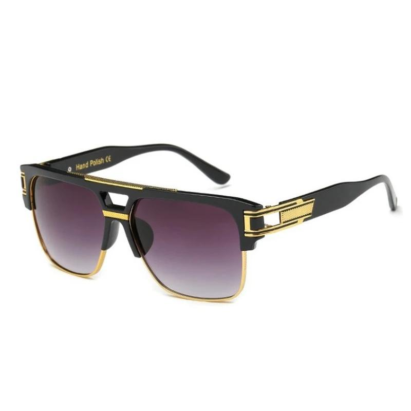 Classic Luxury Square Sunglasses