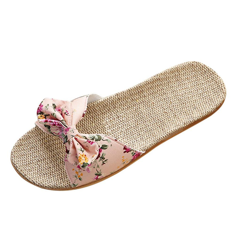 Linen Fresh Summer Cool Slippers