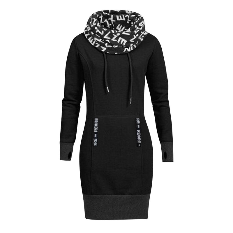 Plus Size Women Long Sleeve Dresses
