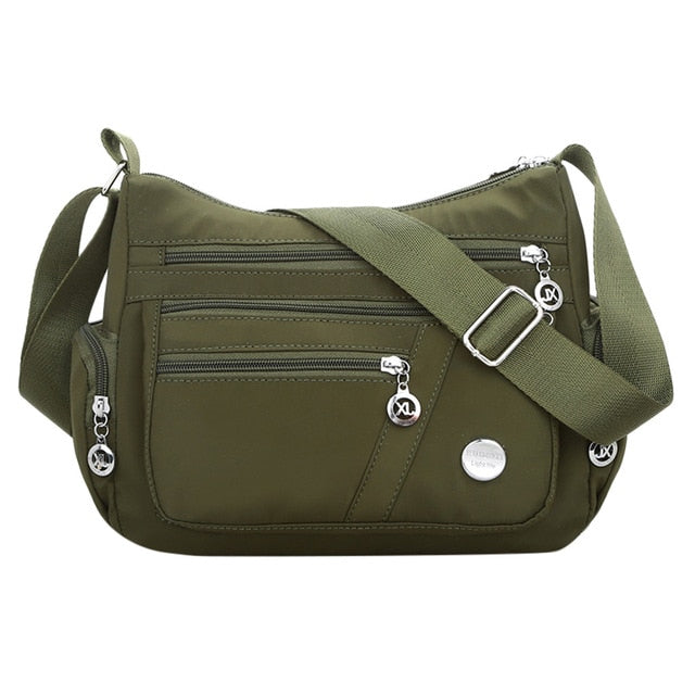 Nylon Casual Waterproof Shoulder Bags