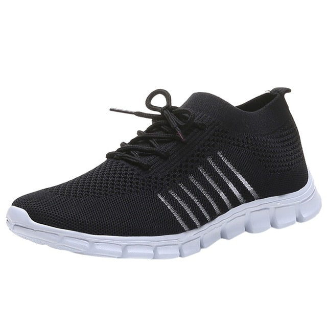 Breathable Women's Mesh Sports Shoes