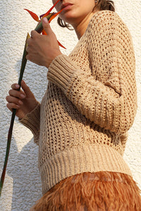SWEATER MESH KNITWEAR