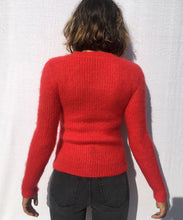 Load image into Gallery viewer, SLIM MOHAIR V-NECK SWEATER  pre-order