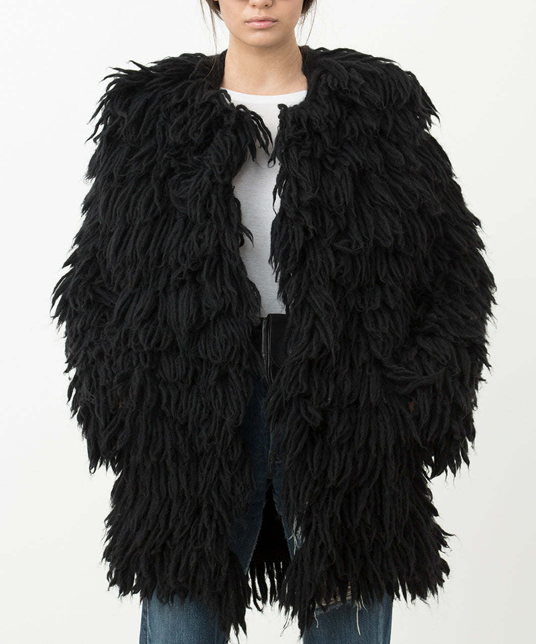 ECO FUR BLACK